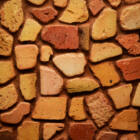 Felületkezelt egyedi dekor tégla mozaik