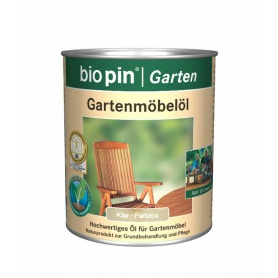 Biopin kerti - bútorolaj (Több színben)