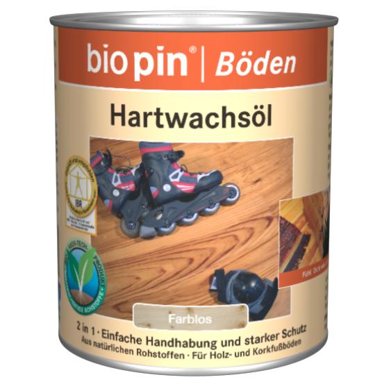 Biopin Keményviaszolaj (0,75L és 2,5L)